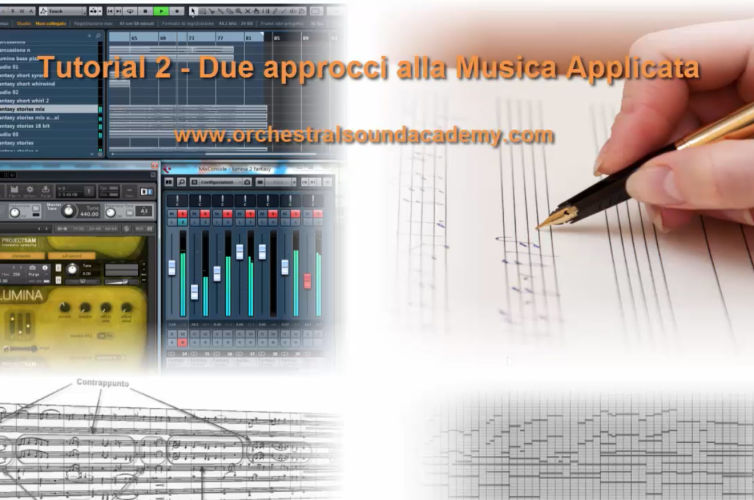 Tutorial 2 – Due approcci alla musica applicata